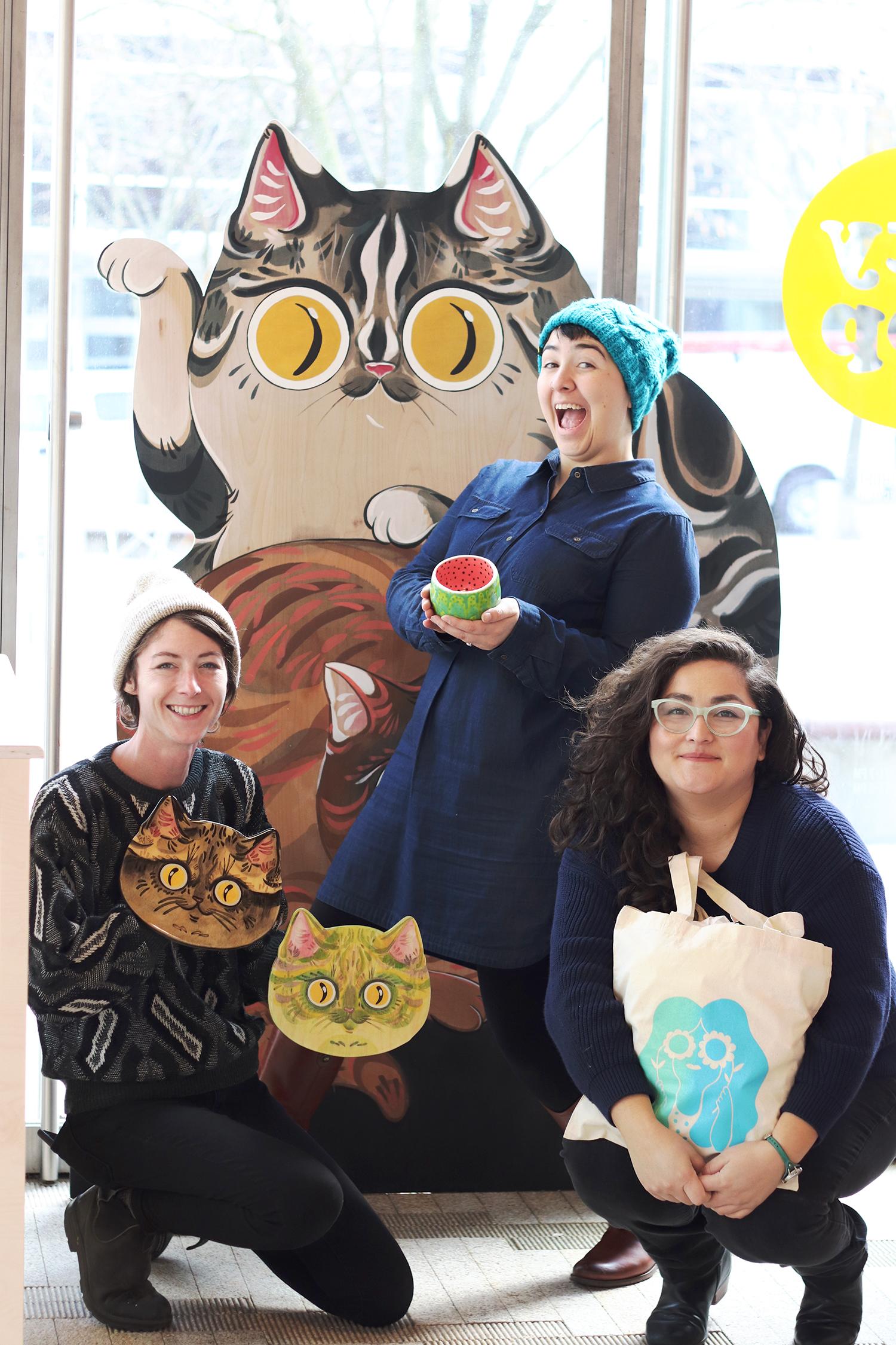 Pop-Up Shop participants.