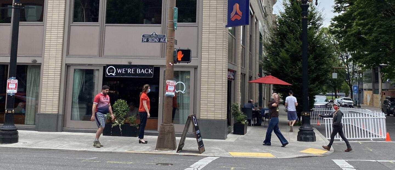Downtown Portland 2020