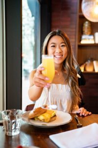 Have breakfast at the Duniway in Downtown Portland.