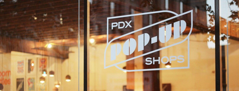Downtown Portland Pop-Up Shops
